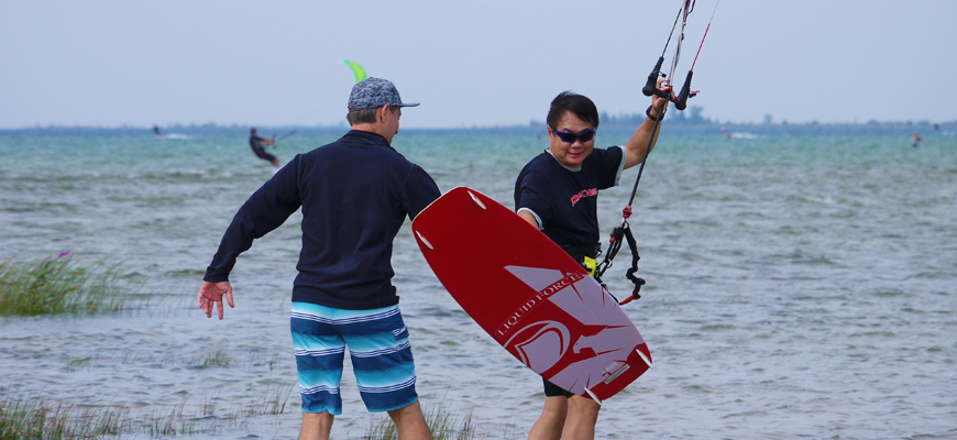 About Kitesurfing Club