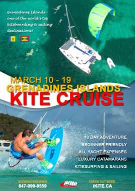 Join the Grenadines kiteboarding cruise