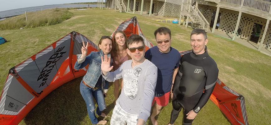 Cape Hatteras Kiteboarding Trip