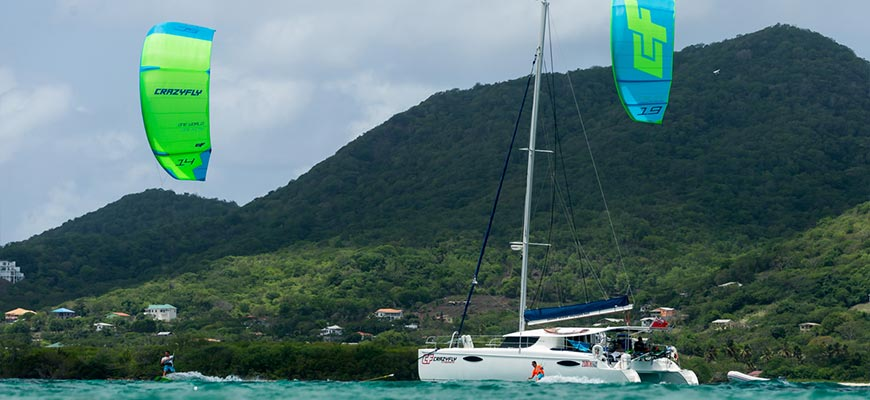 Caribbean Kiteboarding Cruise