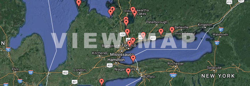 Kiteboarding spots in Ontario