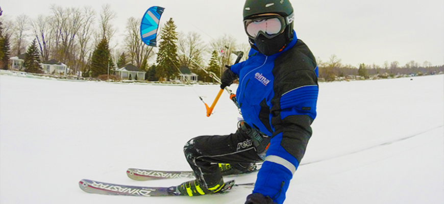 Snowkiting Lessons in Ontario