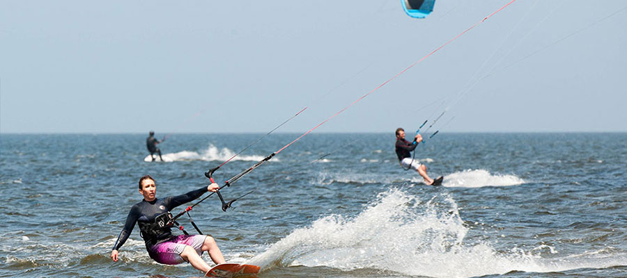 Kiteboarding getaway to Cape Hatteras
