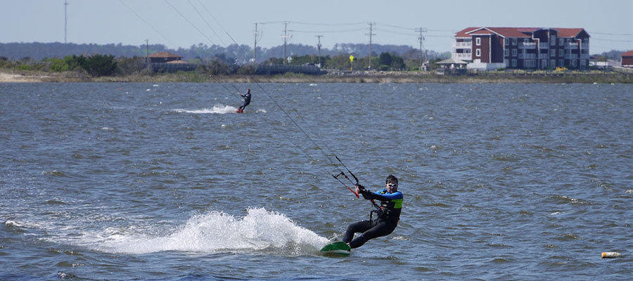 Kiteboarding week in Cape Hatteras