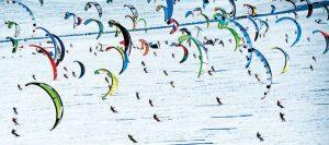 Lake Simcoe Snowkiting Festival