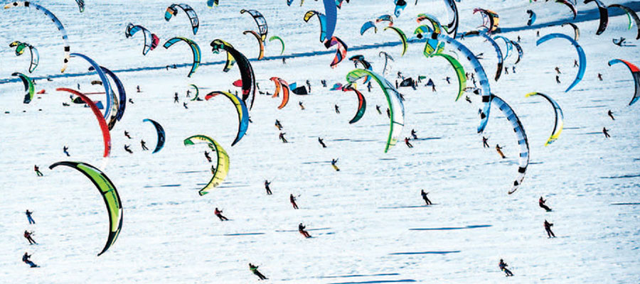 Lake Simcoe Snowkiting Festival 2018