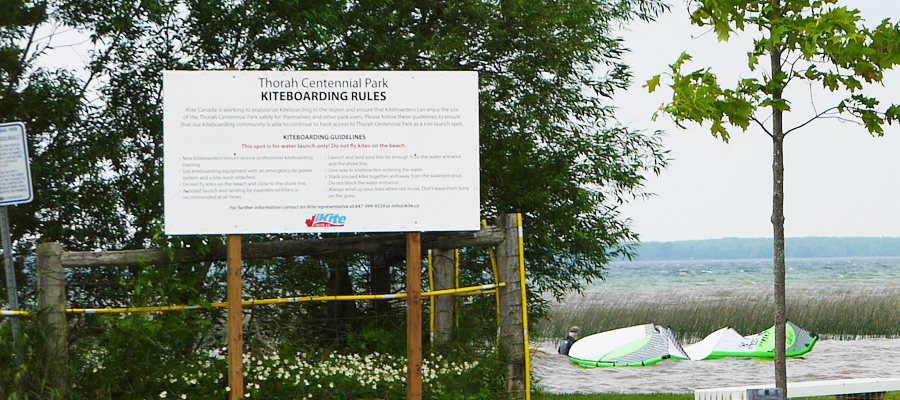 Beaverton Kiteboarding Spot Guidelines