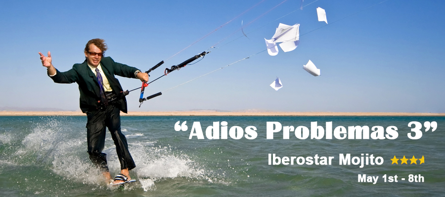"""Adiós Problemas! Part 3"" - All-Inclusive Kiteboarding Tour to Cuba"